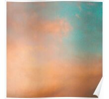 Dreamy clouds Poster