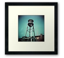 Cranston Water Tower Framed Print