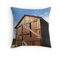 Blue Sky Barn Throw Pillow