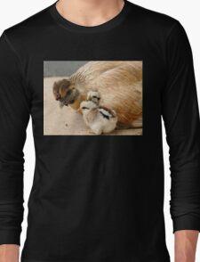 Go To Sleep - Hen & Chicks - NZ Long Sleeve T-Shirt