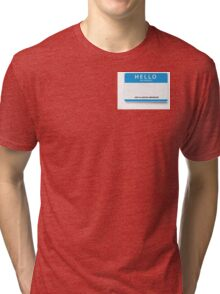 BACHAO Ambassador Name Tag Tri-blend T-Shirt