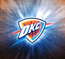 Oklahoma City Thunder Basketball by purplehayes