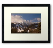Whiteface Mountain Framed Print