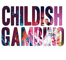 Childish Gambino rapper by purplehayes