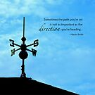 Weathervane by Kelly Pierce