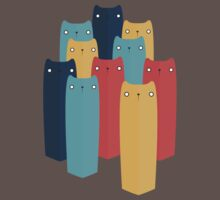 Cats One Piece - Short Sleeve