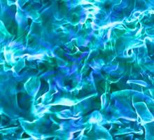 Blue Flame Sticker