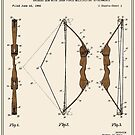 Archery Bow Patent - Colour by FinlayMcNevin