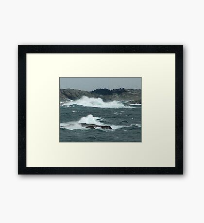 Rock-Bound Coast (2) Framed Print