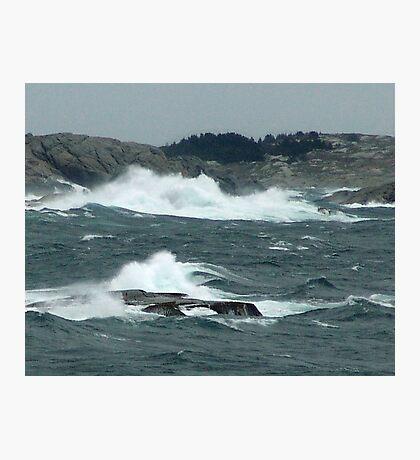 Rock-Bound Coast (2) Photographic Print
