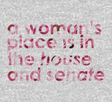A Woman's Place... (Rose) Kids Tee