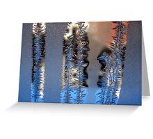 Ice shape 2 Greeting Card