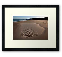 Hunter Beach Framed Print