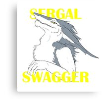Sergal Swagger Canvas Print