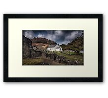 St Michael's church in Talley Framed Print