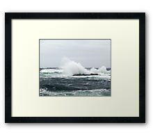 Shoot and get Drenched Framed Print