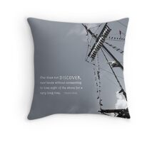 Ship Throw Pillow