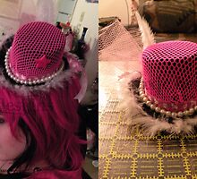 Hello Kitty Top Hat by ToxicHeart
