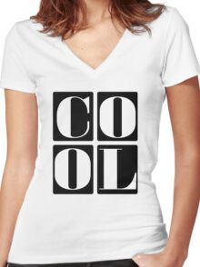 Cool Kids Women's Fitted V-Neck T-Shirt