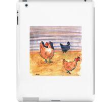 Rusty Chickens iPad Case/Skin