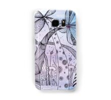 Zentangle Inspired On WaterColour Samsung Galaxy Case/Skin