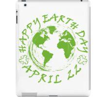 Earth Day Celebration 1 iPad Case/Skin