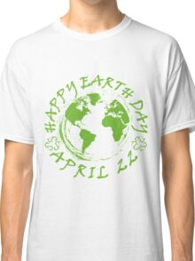 Earth Day Celebration 1 Classic T-Shirt