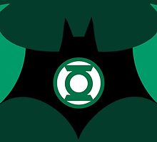 Batman and Green Lantern by AvatarSkyBison