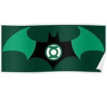 Batman and Green Lantern Poster