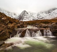 Fairy Pools in Winter by tinnieopener