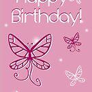 Girl's Birthday Butterfly by shanmclean