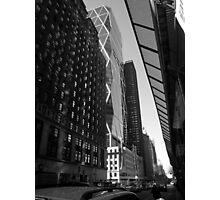 city light. broadway, new york city Photographic Print