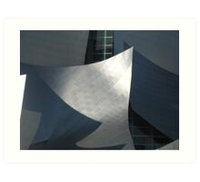 Mickey Mouse Archictecture Art Print