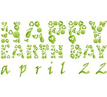 Earth Day Celebration 3 Photographic Print