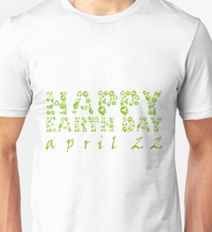 Earth Day Celebration 3 Unisex T-Shirt