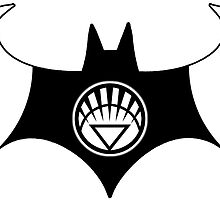 White Lantern Batman by AvatarSkyBison