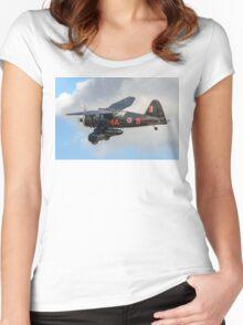 Westland Lysander IIIa V9367/MA-B G-AZWT Women's Fitted Scoop T-Shirt