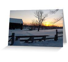Bethany Hills Ontario Canada Greeting Card