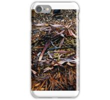 Left behind by this mornings tide iPhone Case/Skin