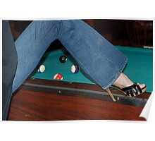 Let's play some pool. . . . Poster