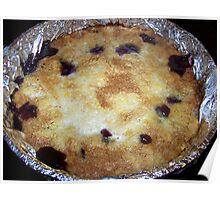 Coal Cooked Dump Cake Poster