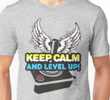 Keep Calm and Level Up! Unisex T-Shirt