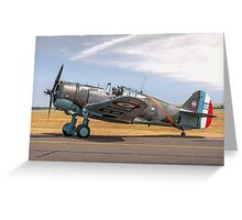 Curtiss Hawk 75-C1 No 82 G-CCVH Greeting Card