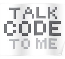 Talk code to me Poster