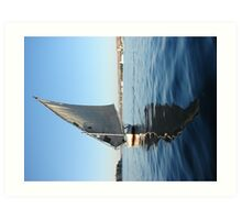 Reflections on the Nile Art Print