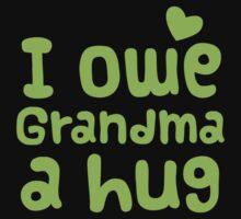 I owe Grandma a HUG! Kids Clothes