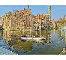 Rozenhoedkaai-Bruges Photographic Print