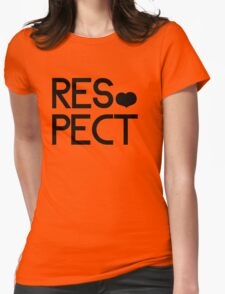 RESPECT Womens Fitted T-Shirt