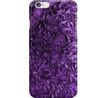 Peeling Paint (purple) iPhone Case/Skin