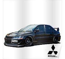 Mitsubishi Lancer Evolution 8 Poster